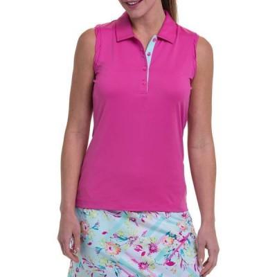 イーピープロ レディース シャツ トップス Ep Pro Women's Mock Neck Sleeveless Golf Polo