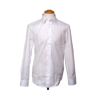 ランボルギーニ メンズ スリムフィット パナマ シャツ ホワイト 9109013CCW017