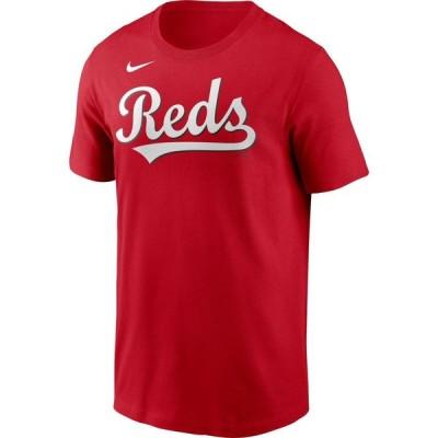 ナイキ Nike メンズ Tシャツ トップス Cincinnati Reds Red Alternate Wordmark T-Shirt