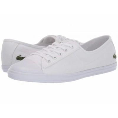 Lacoste ラコステ レディース 女性用 シューズ 靴 スニーカー 運動靴 Ziane BL 2 CFA White/White【送料無料】