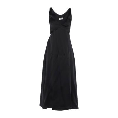 アティコ THE ATTICO ロングワンピース&ドレス ブラック 3 アセテート 76% / ナイロン 21% / ポリウレタン 3% ロングワン