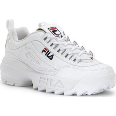 フィラ Fila メンズ シューズ・靴 Disruptor II White/Peacoat/VRed