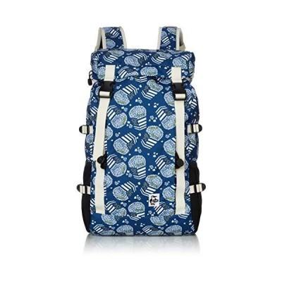 [チャムス] リュック Eco Zion Day Pack Blue Pop Corn
