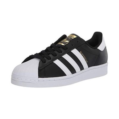 adidas Originals Women's Superstar Sneaker, Black/White/Black, 7.5【並行輸入品】