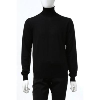 ラルディーニ セーター ニット タートルネック IMLMML177IM55020 999 メンズ IMLMML177 55020 ブラック 2020年秋冬新作 LARDINI