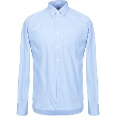 コム デ ギャルソン COMME des GARCONS SHIRT メンズ シャツ トップス solid color shirt Pastel blue