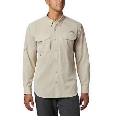 (取寄)コロンビア メンズ パーミット ウーブン ロングスリーブ シャツ Columbia Men's Permit Woven LS Shirt Fossil