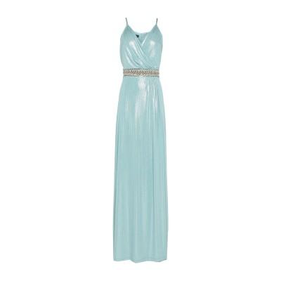MIKAEL ロングワンピース&ドレス スカイブルー 10 ポリエステル 100% ロングワンピース&ドレス