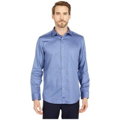 ジョンストンアンドマーフィー メンズ シャツ トップス Floral Dot Print Shirt