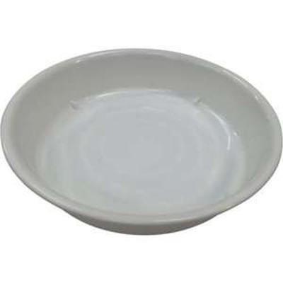 IRIS 157510 鉢受皿中深型 ホワイト 8号(品番:HUMD-8-W)『7549750』