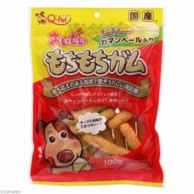 九州ペットフード おいしいもちもちガムチーズ入り100g 犬 おやつ デンタルケア 犬 おやつ ガム ドッグフード
