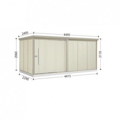物置 屋外 おしゃれ タクボ物置 ND/ストックマン ND-4422 一般型 標準屋根 ムーンホワイト