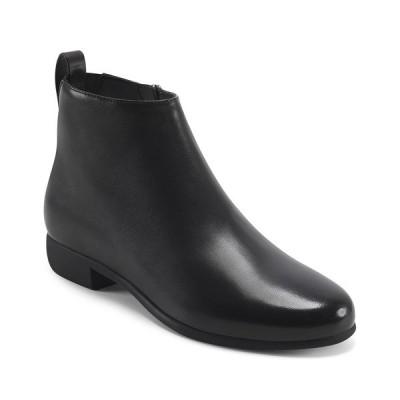 エアロソールズ ブーツ&レインブーツ シューズ レディース Women's Spencer Ankle Boots Black Leather