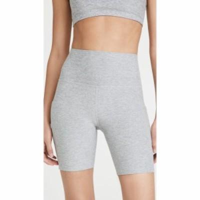 ビヨンドヨガ Beyond Yoga レディース ショートパンツ ボトムス・パンツ Spacedye Team Pockets High Waisted Biker Shorts Silver Mist