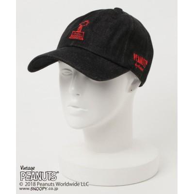 chumchum / PEANUTS COLONEL WOOD STOCK DENIM BB CAP WOMEN 帽子 > キャップ