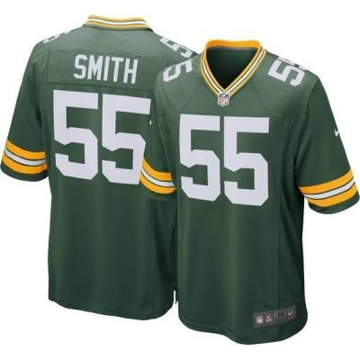 ナイキ メンズ シャツ トップス Nike Men's Home Game Jersey Green Bay Packers Za'Darius Smith #55