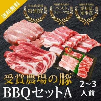 あいぽーく BBQセットA 2〜3人前(500g)豚トロ入