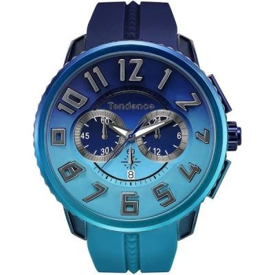 【日本限定モデル】正規品 TENDENCE テンデンス De'Color ディカラー TY146101 ブルー 腕時計 メンズ 男性 彼氏 レディース 女性