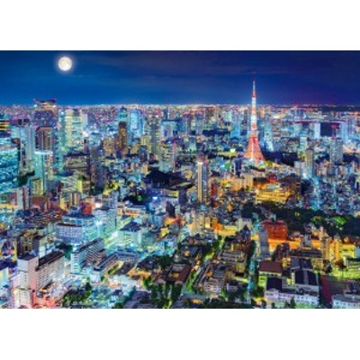 EPO-54-018 日本の風景 煌めく東京の夜-東京 2000ピース ジグソーパズル