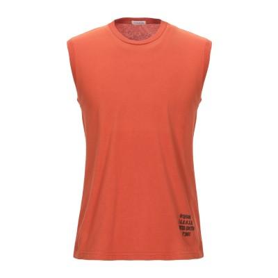 パロッシュ P.A.R.O.S.H. T シャツ 赤茶色 M コットン 100% T シャツ