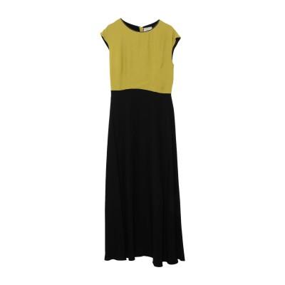 OTTOD'AME ロングワンピース&ドレス ビタミングリーン 40 レーヨン 100% ロングワンピース&ドレス