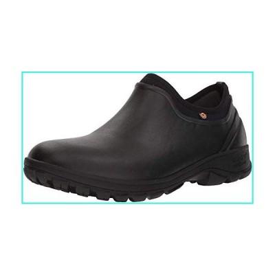 【新品】Bogs Men's Sauvie Slip On Waterproof Rain Boot, Black, 13 M US(並行輸入品)