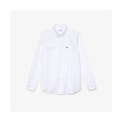 シャツ ブラウス オックスフォードボタンダウンシャツ