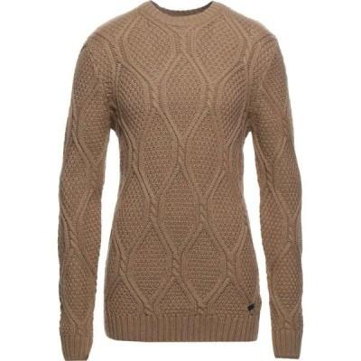 センス SSEINSE メンズ ニット・セーター トップス Sweater Camel