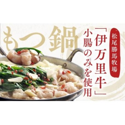 J202伊万里牛もつ鍋セット(ホルモン200g×3・スープ・麺・薬味・みそ牛ホルモン付き)