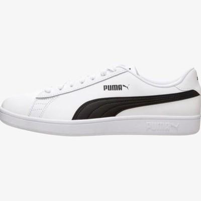 プーマ メンズ 靴 シューズ SMASH - Trainers - white / black
