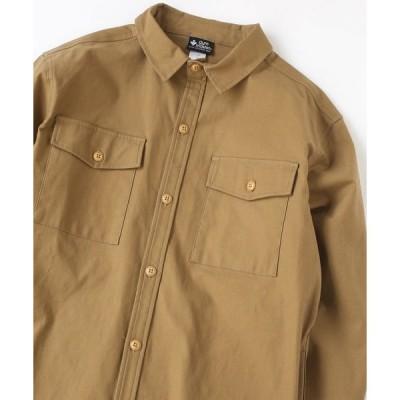 シャツ ブラウス ストレッチバックツイル シャツジャケット