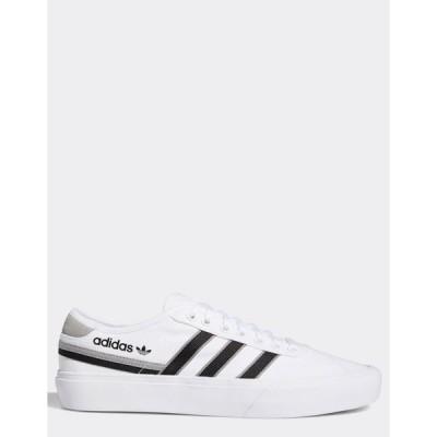 アディダスオリジナルス メンズ スニーカー シューズ adidas Originals delpala sneakers in white White