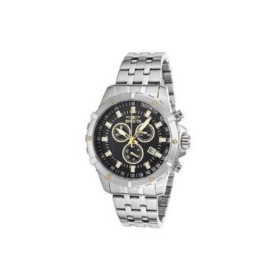 腕時計 インヴィクタ メンズ Invicta17502 スペシャルty スイス クロノグラフ ブラック ダイヤル SS 腕時計