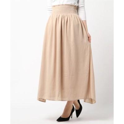 スカート シェイドマキシスカート