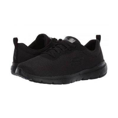 SKECHERS スケッチャーズ レディース 女性用 シューズ 靴 スニーカー 運動靴 Flex Appeal 3.0 - Black