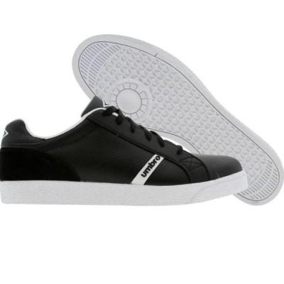 ユニセックス スニーカー シューズ Umbro Kingston Leather-A (black / white)