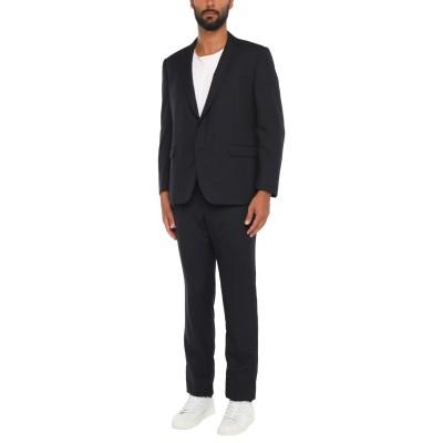 カルーゾ CARUSO スーツ ダークブルー 56 ウール 100% スーツ