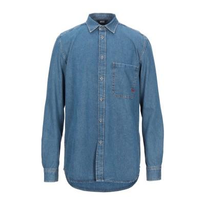 ディーゼル DIESEL デニムシャツ ブルー L コットン 100% デニムシャツ