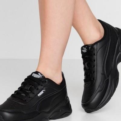 プーマ レディース 靴 シューズ CILIA MODE - Trainers - black/silver