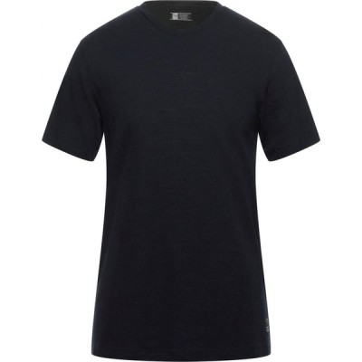 ZZEGNA メンズ Tシャツ トップス t-shirt Dark blue