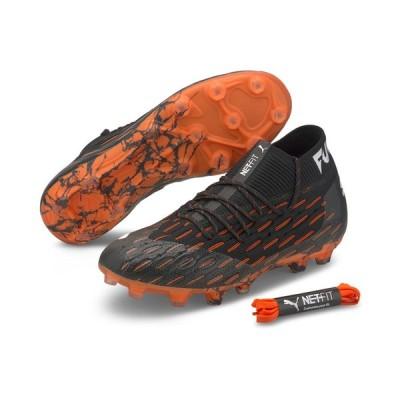 《特価》PUMA プーマ 106180 01 フューチャー 6.1 NETFIT HG [CHASING ADRENALIN PACK] サッカースパイク トップモデル サッカー用 レアルスポーツ