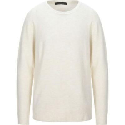 メッサジェリエ MESSAGERIE メンズ ニット・セーター トップス sweater Ivory