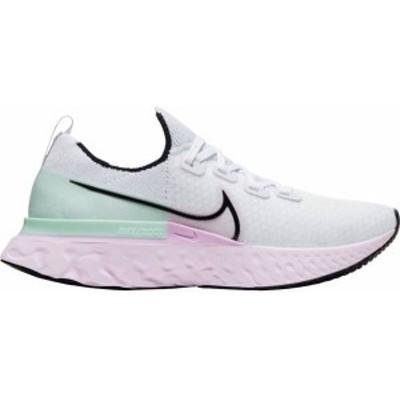 ナイキ レディース スニーカー シューズ Nike Women's React Infinity Run Flyknit Running Shoes White/Lilac Gray