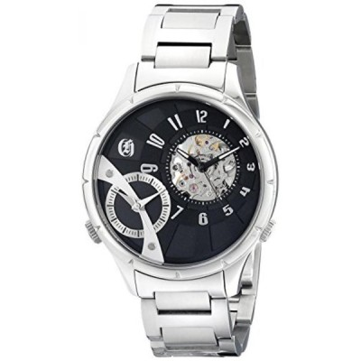 チャールズヒューバート 腕時計 メンズウォッチ Charles-Hubert, Paris Men's 3967-B Premium Collection Analog Display Mechanical Hand Wind Silver Watch