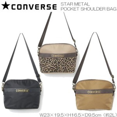 CONVERSE コンバース STAR METAL POCKET SHOULDER BAG ショルダーバッグ