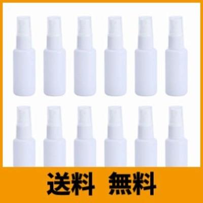 スプレーボトル 12本セット 詰替ボトル 白 空容器 霧吹き 30ml