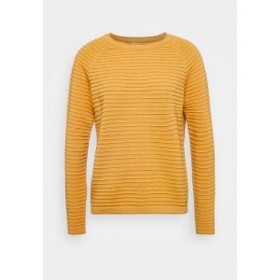 キュー エス デザイン バイ レディース ニット&セーター アウター Jumper - yellow yellow