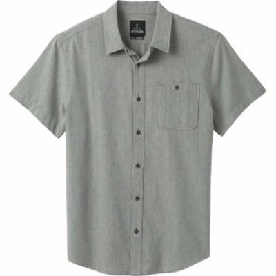 プラーナ Prana メンズ トップス Jaffra SS Shirt Gravel