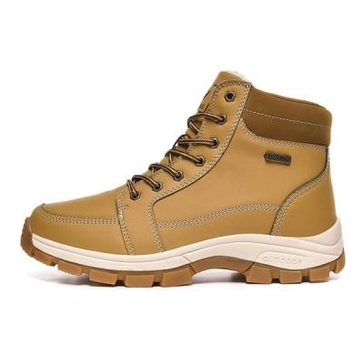 マーティンブーツ メンズブーツ ショートブーツ スノーブーツ アウトドア 革靴 レザー 大きいサイズ 裏起毛