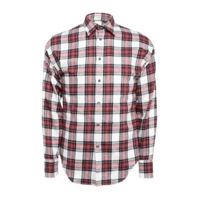 ディースクエアード DSQUARED2 シャツ レッド 38 コットン 100% シャツ